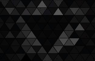 Black Triangle Background vector