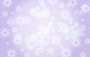 Blurred Purple Star Background with Bokeh Effect vector