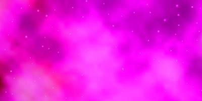 Pink pattern with abstract stars.
