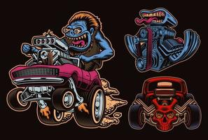 A bundle of hot rods