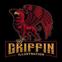 Emblem of a griffin