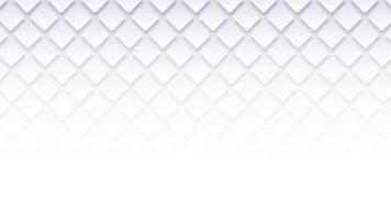 White geometric square background