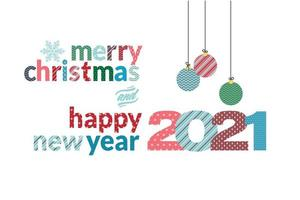 Merry Christmas and Happy New Year 2021