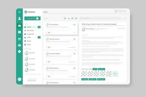 Dashboard admin panel