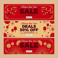 Chinese New Year Sale Web Banner