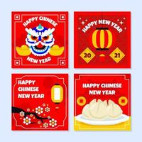 Chinese New Year Card Pack