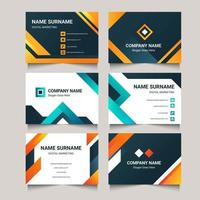 Modern Business Card Collection vector