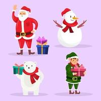 Cute Christmas Character Collection