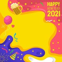 New Year Festivity Background