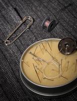 set of seamstress for needlework photo