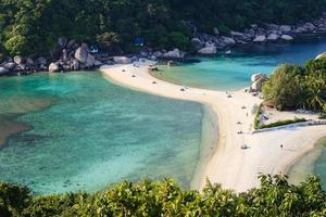 Beach of Nang Yuan island, Thailand