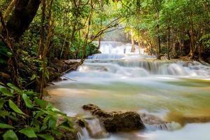 The Huai Mae Khamin Waterfall