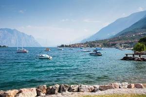 Sailing Boats at Lake Garda