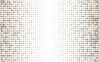 Square halftone geometric pattern vector