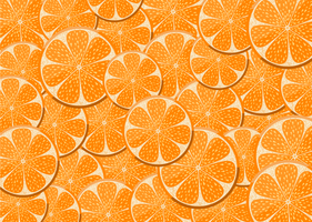 Lemons and oranges seamless pattern