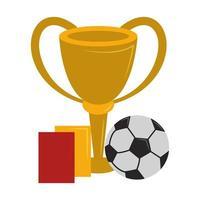 Soccer sport game