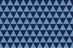 Geometric triangle, seamless pattern vector