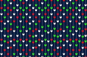 patrón geométrico de tela sin costuras vector