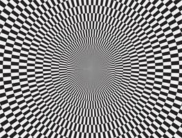 Abstract circle pattern vector