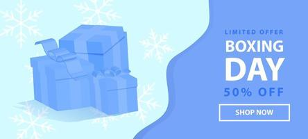 Limited offer banner for Christmas