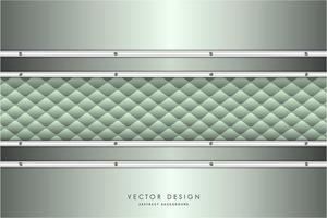 moderno fondo metálico verde y plateado