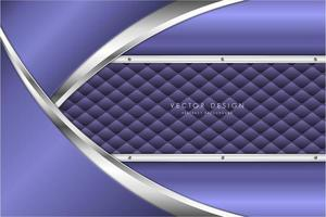 moderno fondo metálico plateado y violeta