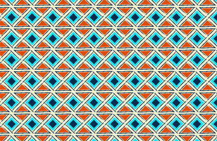 Ethnic Seamless Fabric Pattern vector