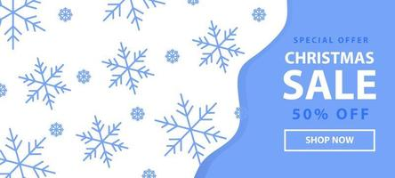 Special offer banner for Christmas