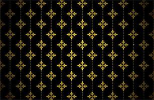 Glowing Gold Color Pattern