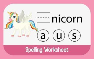 encontrar letra faltante con unicornio