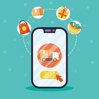 Online shopping and e-commerce via smartphone