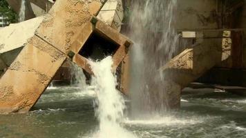 video d'archivio di fontana d'acqua girato in hd gratis