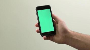 iPhone 6 - Chroma Key / Green Screen bereit