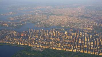 Aerial Footage of New York City's Central Park 4K video