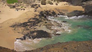 Bucht auf Hawaii Insel 4k video