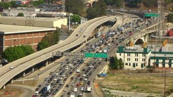 Los Angeles Freeway Traffic
