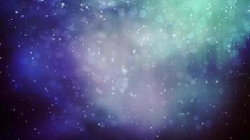 feriados mágicos neve movimento fundo 4k video