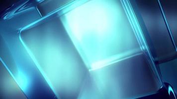 bucle de fondo de movimiento de vidrio brillante 4k