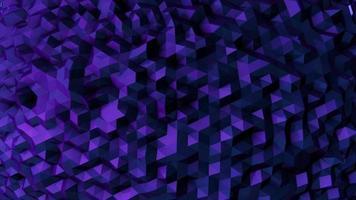 bucle de fondo de movimiento de geometría danza 4k video
