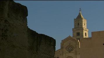 italienisches Gebäude in Matera