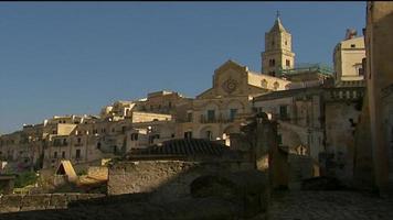 arquitetura na matera itália