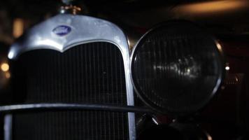 carro a través del modelo t ford