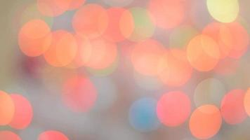 Colorful bokeh.