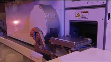 bras de laboratoire robotique video