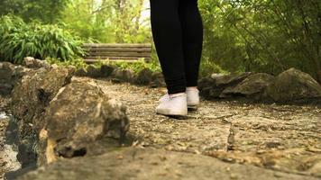 caminando por el sendero