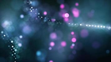 blinkende und sich drehende Lichter