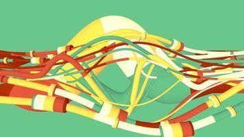 tubos gráficos entrelazados
