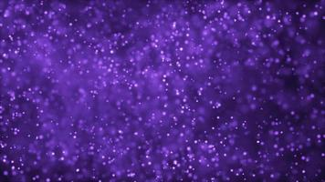 Purple Snow Storm 4K Motion Background video