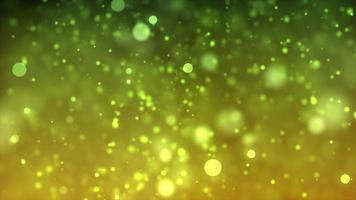 Yellow and Lime Bubbles 4K Motion Background video