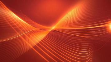 maglia luminosa formata da linee e movimenti contorti